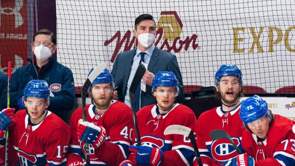alex burrows canadiens coach