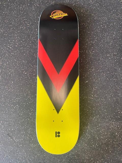 Colin McKay Canucks skateboard