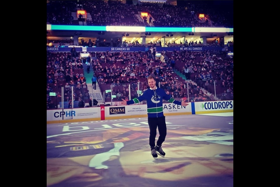 Devon Whitter, a member of the Canucks Ice Team, went viral this week for his electrifying ice-scraping routine.