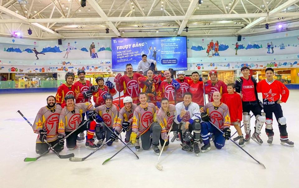 Hanoi hockey players