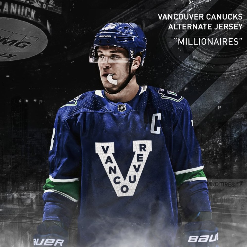 Canucks Reverse Retro Jersey Which Throwback Will They Wear Vancouver Is Awesome