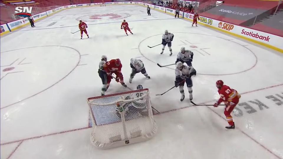 NHL Highlights _ Canucks @ Flames 1_18_21 3-59 screenshot