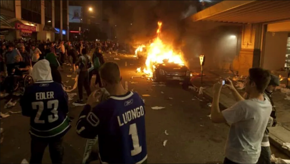 Vancouver Stanley Cup Riot 2011