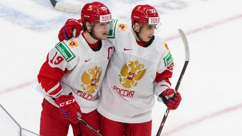 Vasili-Podkolzin-Russia-World-Juniors-Vancouver-Canucks-Jason Franson CP