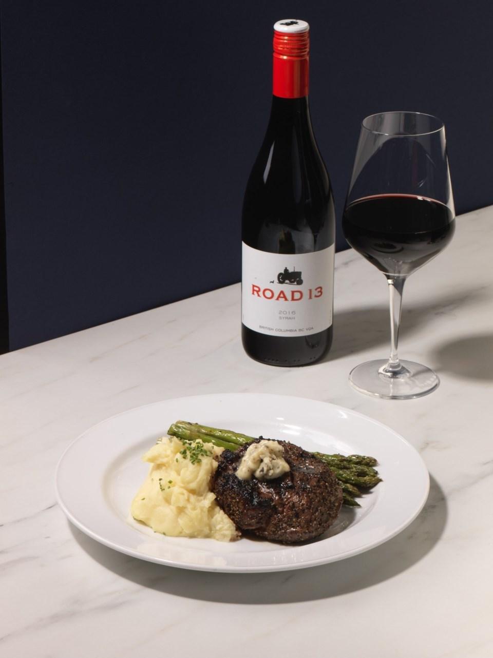 Steak and Road 13 Syrah_Earls