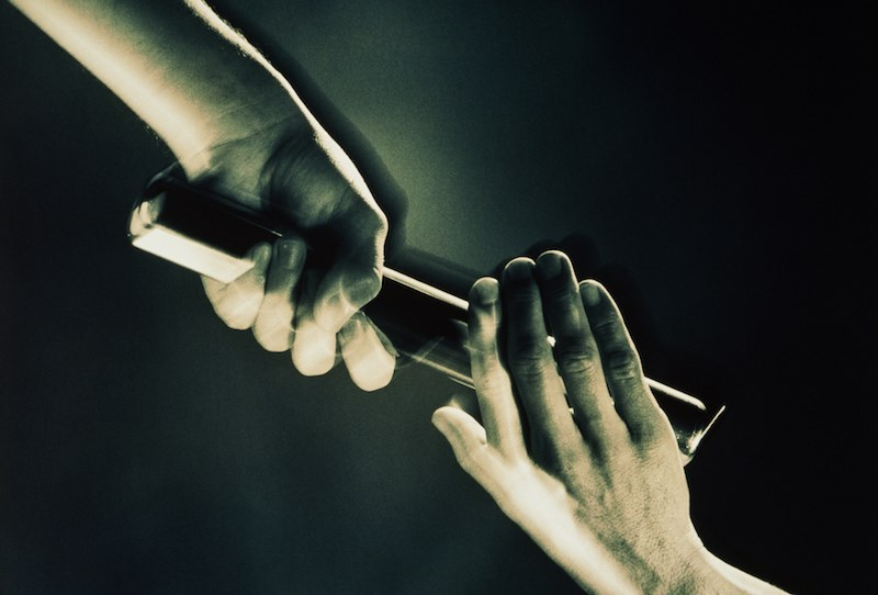 passing-baton