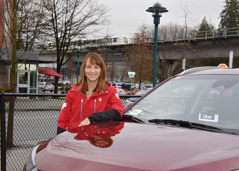 This Coquitlam councillor is also an Uber driver