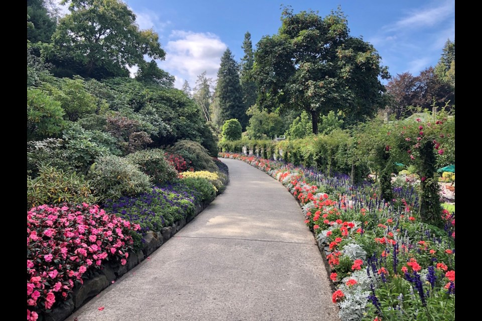 Even the first path to the themed gardens is a stunner. Photo by Lindsay William-Ross/Vancouver Is Awesome