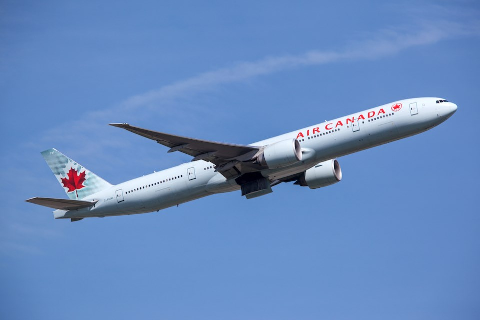 fly across canada covid-19 pandemic air canada