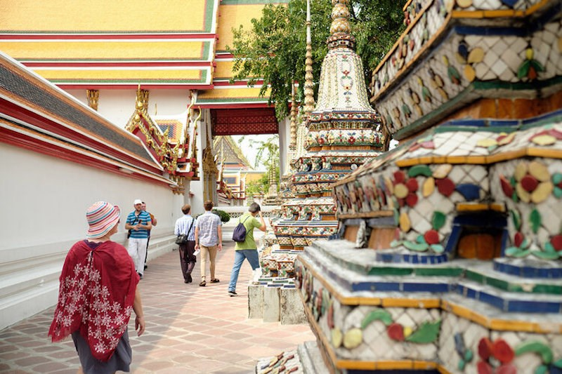 Wat Pho Temple in Thailand.