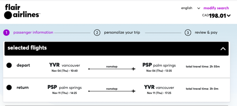 vancouver-palm-springs-return-flight-flair