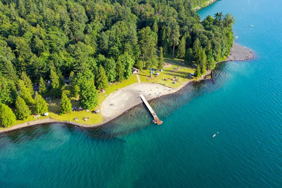 cultus-lake-bc-swimming-spot