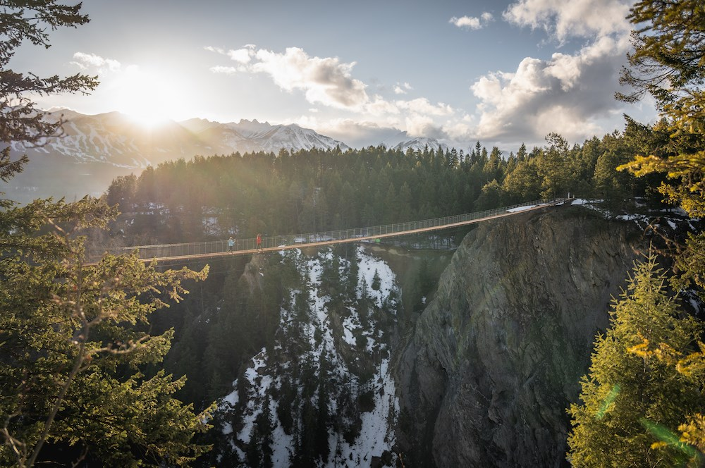 B.C. town to offer the highest suspension bridges in Canada this summer