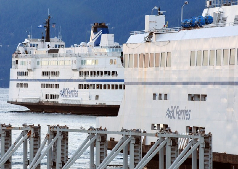 Police called after anti-mask protesters cause disturbance on Horseshoe Bay  ferry BC Ferries