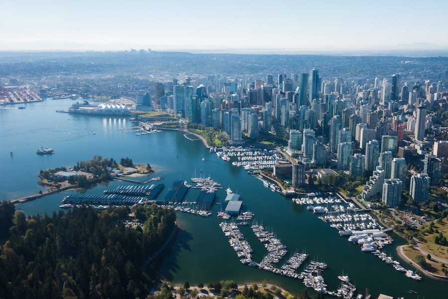 vancouver-city-aerial