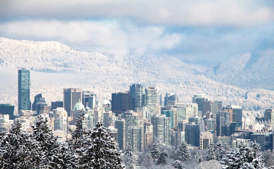 vancouver city snow