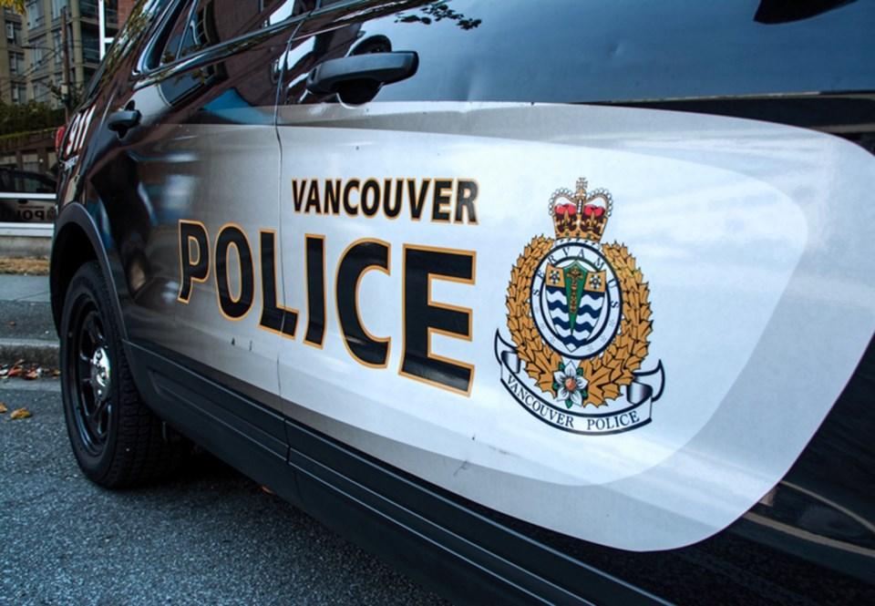 vancouver police car