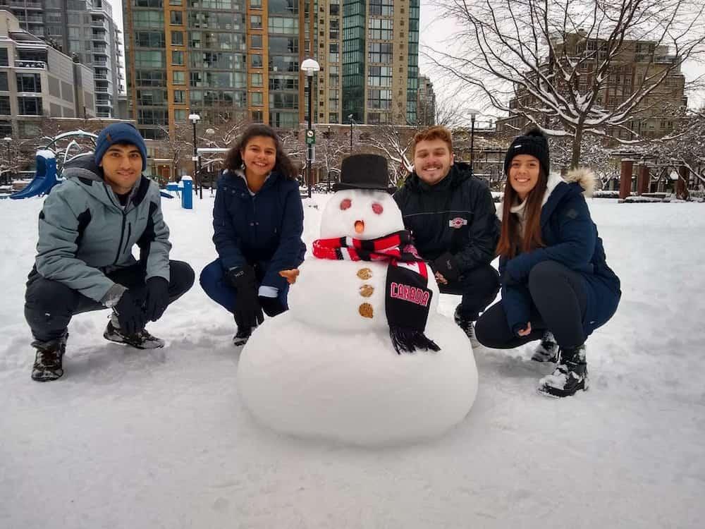 33 adorable snowmen from the Vancouver 'snowpocolypse' 2020 (PHOTOS)