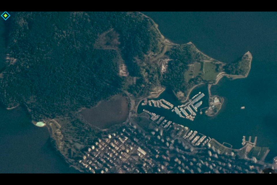 Metro Vancouver looks beautiful up-close and personal, but the International Space Station affords some particularly jaw-dropping images of the region.