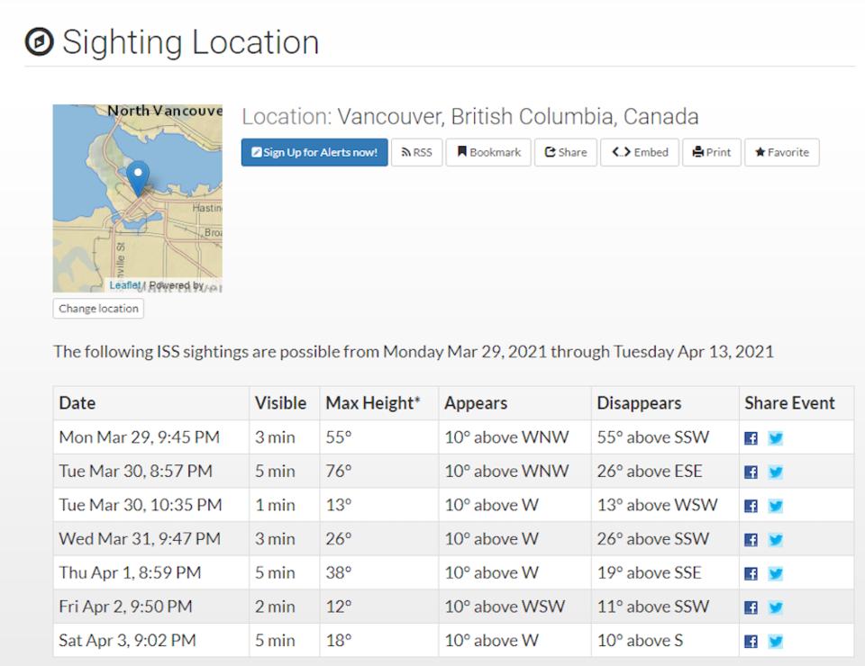nasa-sighting-location-map-details.jpg  - nasa sighting location map details - Video of the International Space Station in Vancouver skies