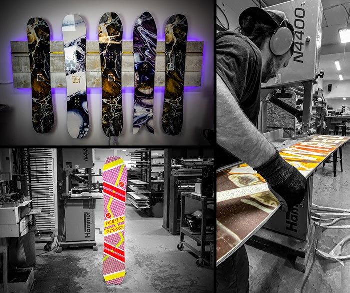 Photo: Wired Snowboards