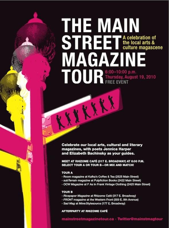Main Street Mag Tour