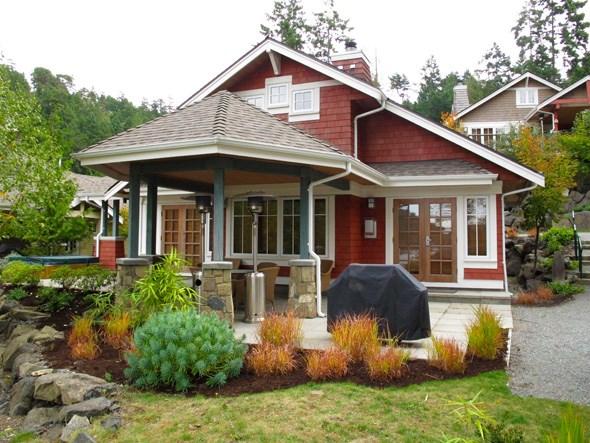 Pender Island cottage