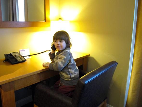 Whistler hotel work centre