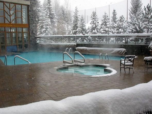Whistler hot tub