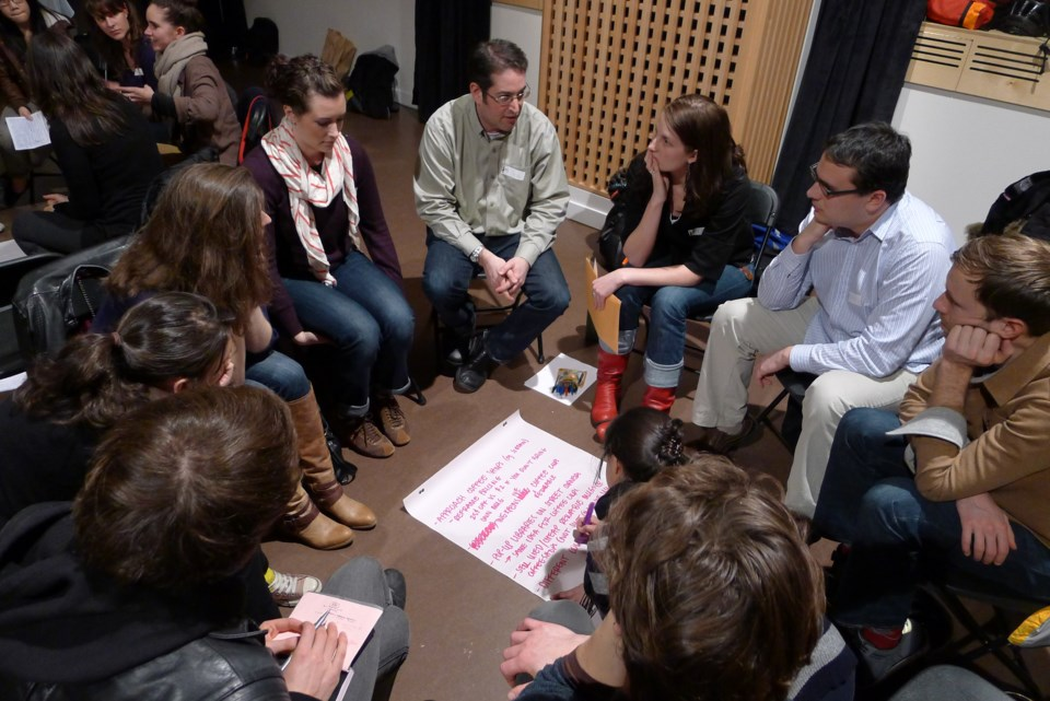 ReGeneration intergenerational dialogue at SFU Woodwards