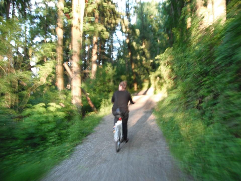 Biking the Trans Canada Trail