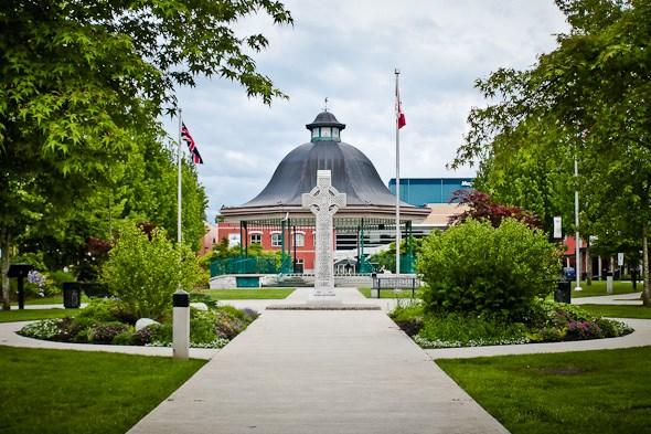 Memorial Peace Park, Haney, Downtown, Maple Ridge