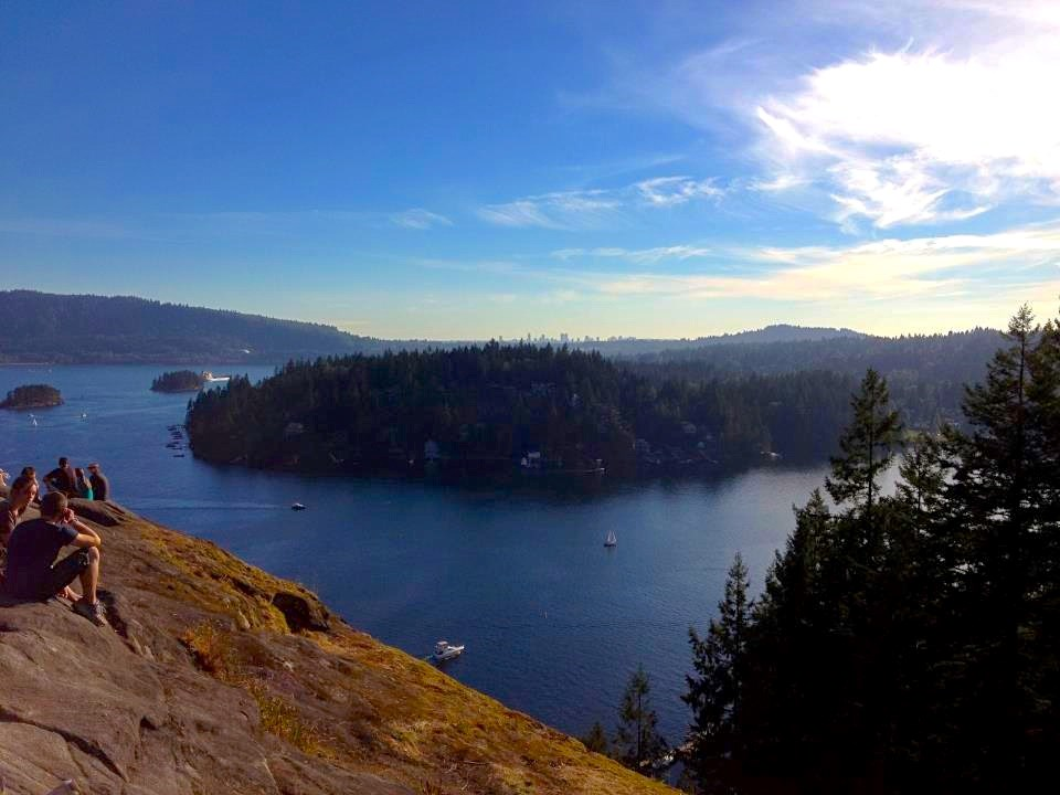 Quarry Rock Vancouver Baden Powell Trail Deep Cove