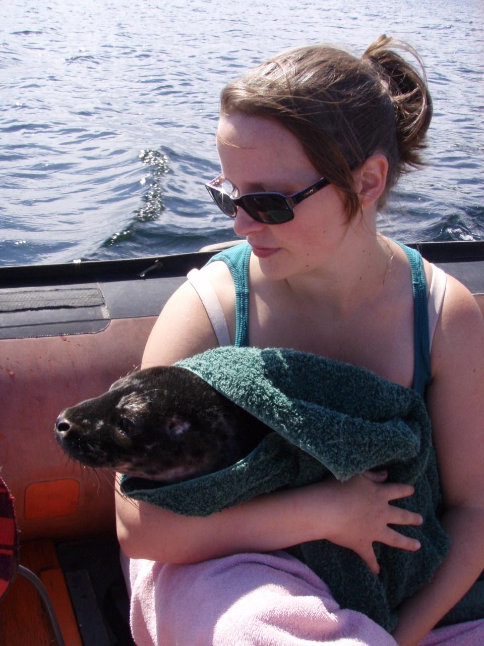 Lasqueti Seal Rescue