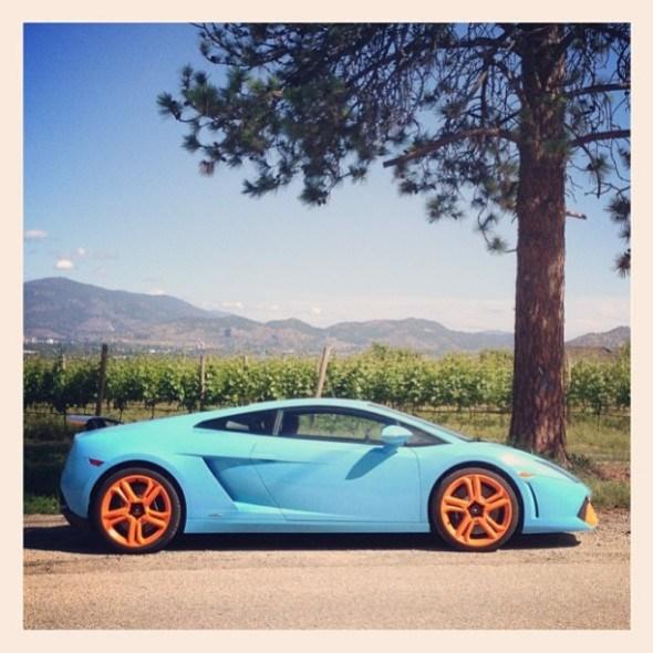 Lamborghini Gallardo LP560-4 with Gulf Racing Paint Scheme