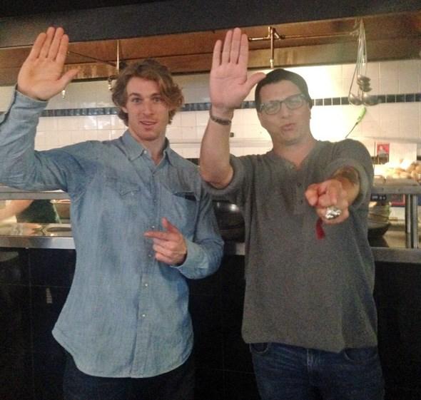 High five, dudes!