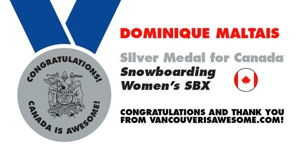 dominique-maltais-medal