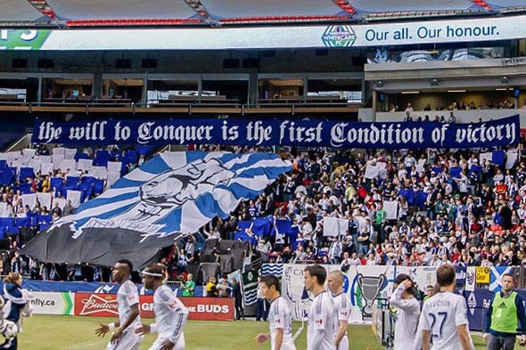 March 03, 2013 - MLS - Toronto FC at Vancouver Whitecaps FC