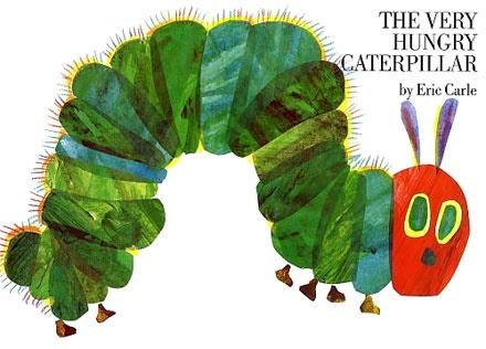 The Very Hungry Caterpillar. Elsome Tsui, Front Desk Clerk.