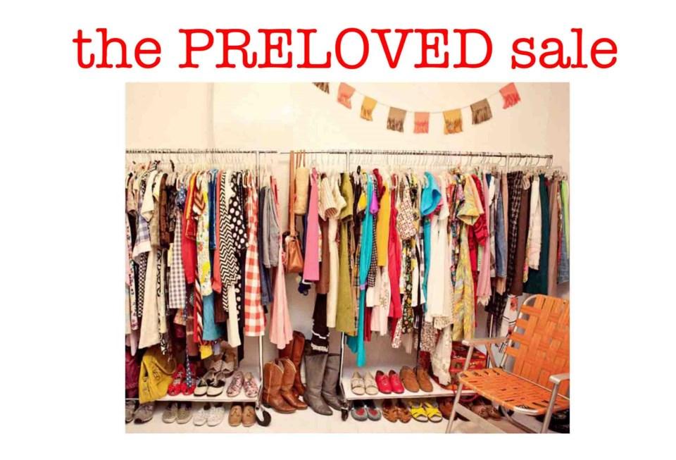 Preloved Sale poster