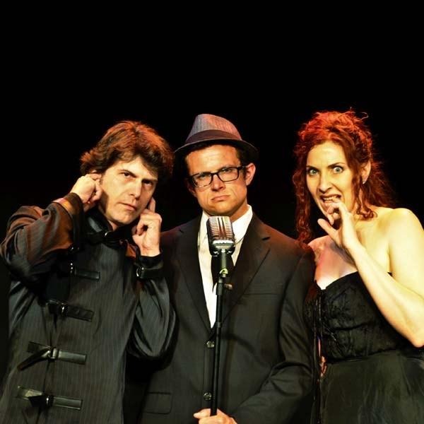 Jayson McDonald, Andrew Bailey, and Tara Travis in Phantom Signal. Submitted photo.