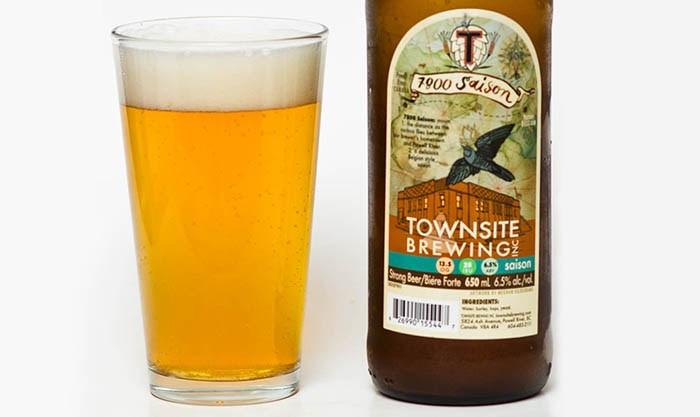 Townsite Brewing 7800 Saison