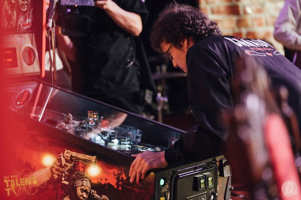 Robert Gagno, #1 ranked pinball player in Canada. Photo by Lindsay Elliott for lindsaysdiet.com