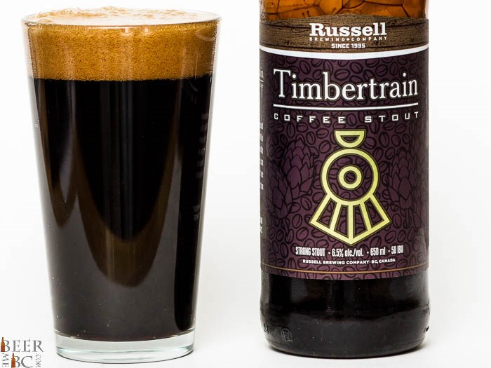 Beer Me BC - Russell Timbertrain Coffee Stout