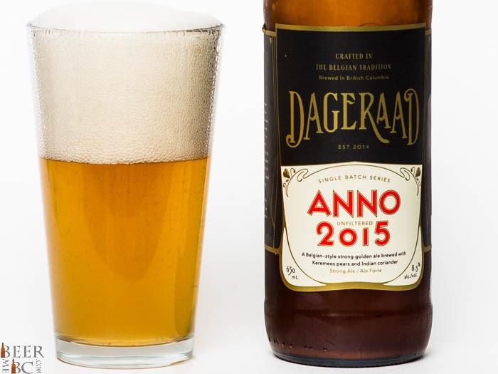 Beer Me BC - Dageraad Anno 2015 Golden Ale