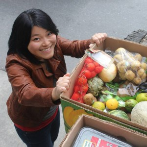 Elaine Cheng, DinnerPartyYVR hobby chef.