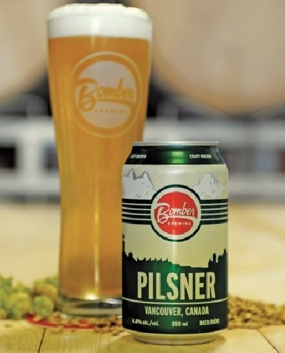 A pilsner from Bomber Brewing. img: