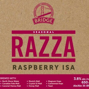 Bridge Brewing Raspberry ISA.