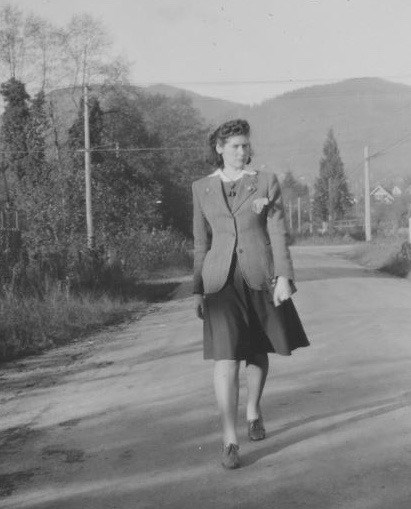 Jennie Conroy, a 24-year old war worker, was found slain in December 1944 near the West Vancouver cemetery. Her killer was never found.
