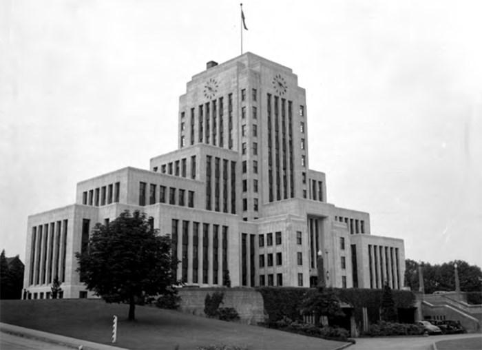 Province Newspaper photo, Vancouver Public Library/ VPL 40212.